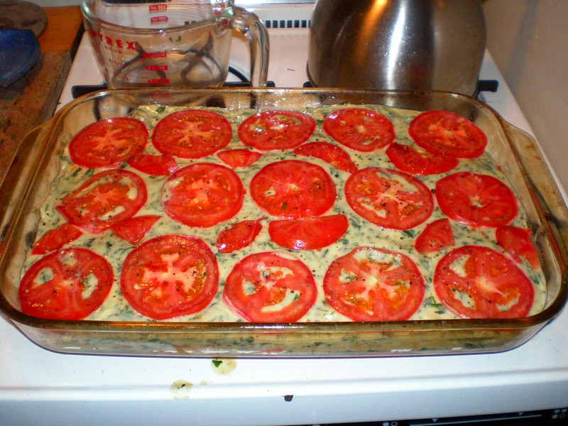 more tomato slices